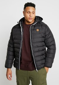 Urban Classics - BASIC BUBBLE JACKET - Winter jacket - black - 0