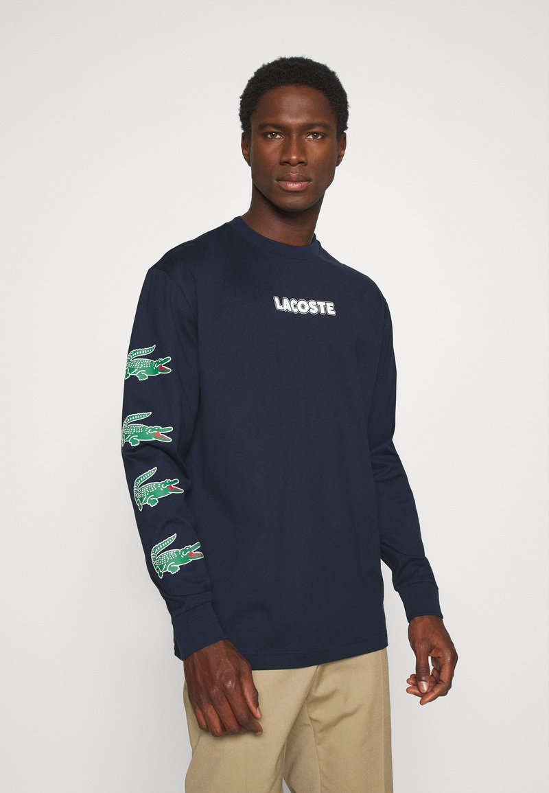 Lacoste - Long sleeved top - marine