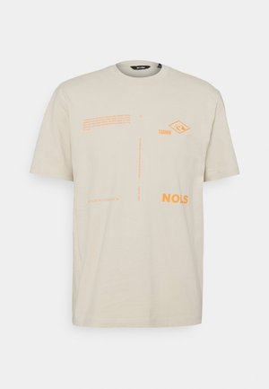 ONSANTHONY LIFE TEE - T-shirt con stampa - pelican