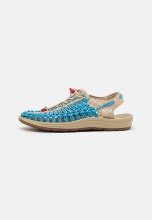 UNEEK - Chodecké sandály - safari/vivid blue