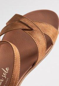 New Look Wide Fit - WIDE FIT GOODIE - Sandales - tan - 2