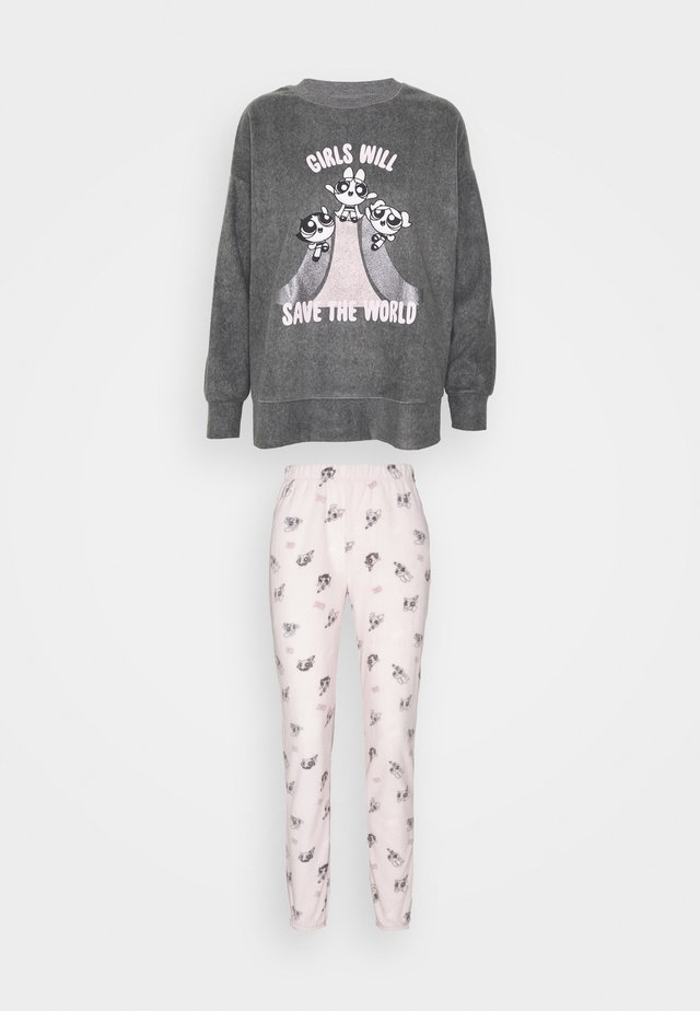 SAVE SET - Pyjamas - medium melange