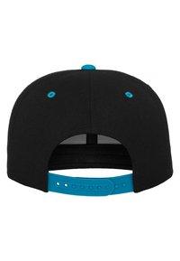 Flexfit - CLASSIC SNAPBACK 2-TONE - Cap - black/turquoise - 5