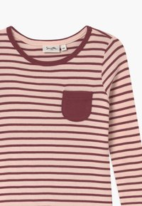 Sanetta - PURE KIDS STRIPED - Noční košile - red wine - 2