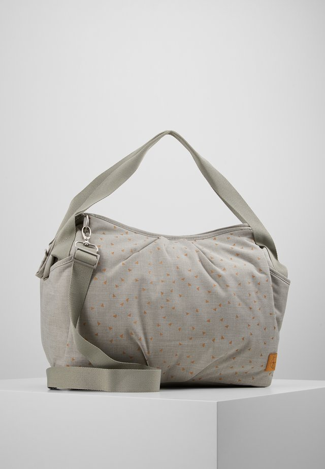 TWIN BAG TRIANGLE SET - Luiertas - light grey