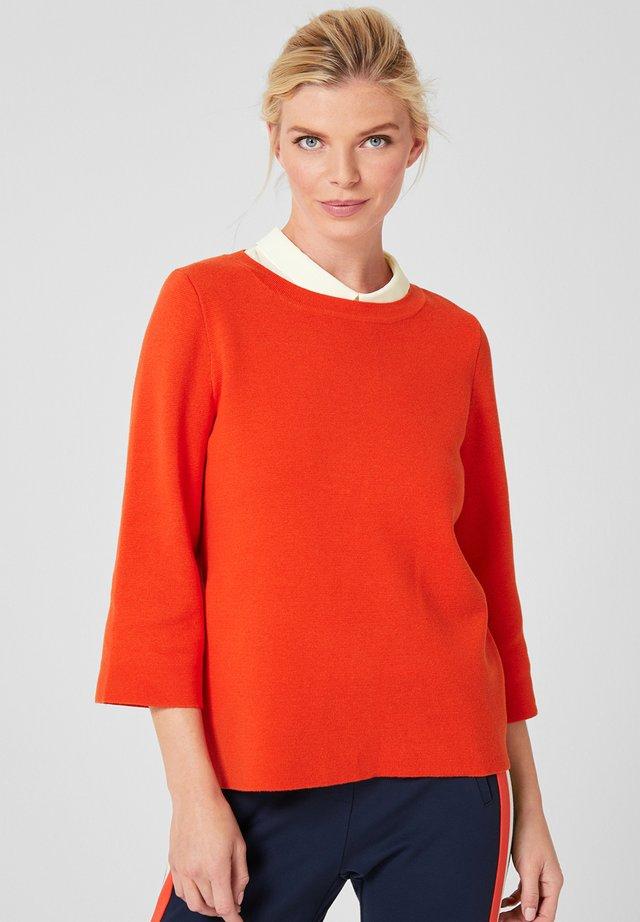 Strickpullover - vibrant orange