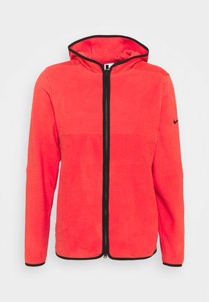THERMA FIT VICTORY HOODIE - Veste polaire - track red/black