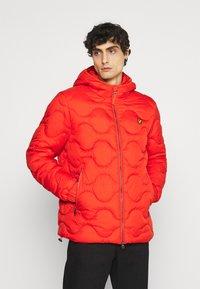 Lyle & Scott - WADDED JACKET - Light jacket - burnt orange - 0