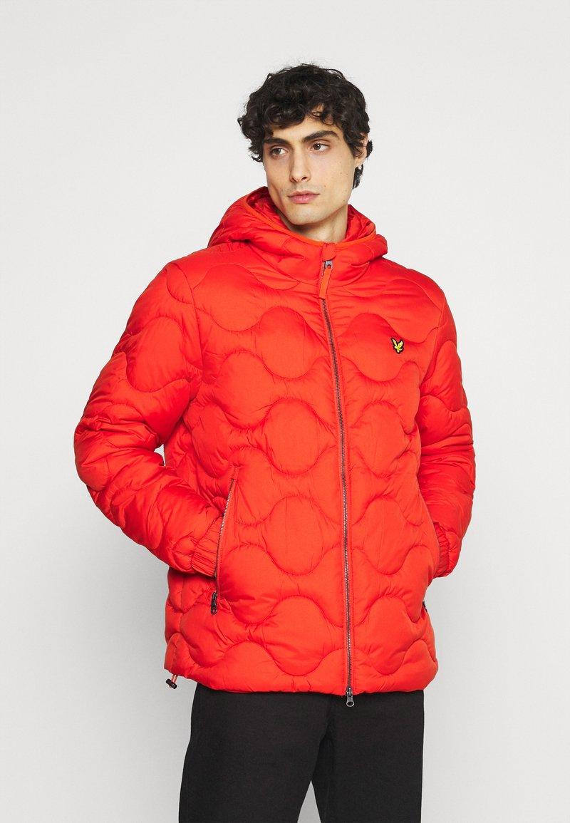 Lyle & Scott - WADDED JACKET - Light jacket - burnt orange