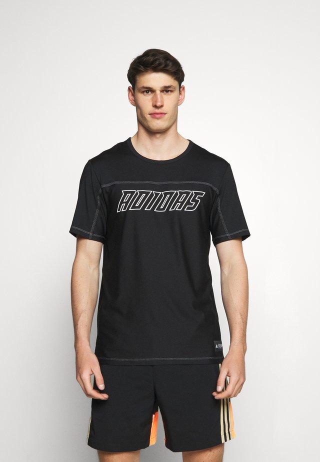 HYPE TEE - T-shirt imprimé - black