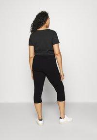 Zizzi - JABELONE CAPRI - Shorts - black - 2