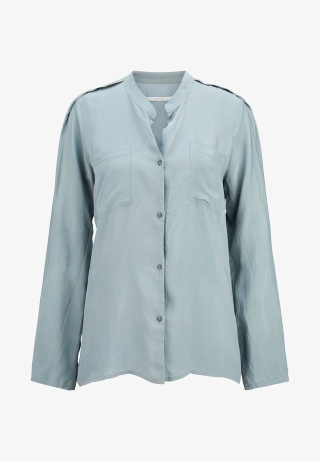 Button-down blouse - grün
