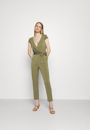 Overall / Jumpsuit - khaki