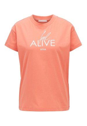 ECURATA - T-Shirt print - light pink