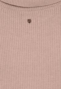 PULZ - Sweatshirt - mahogany rose melange - 4