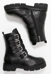 Marco Tozzi - Cowboy/biker ankle boot - black antik - 3