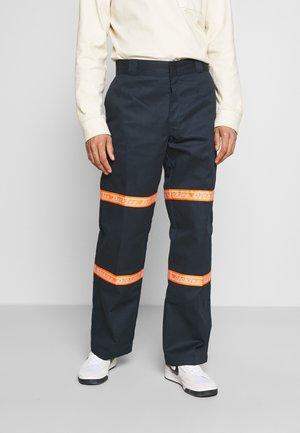 GARDERE - Pantalon classique - dark navy