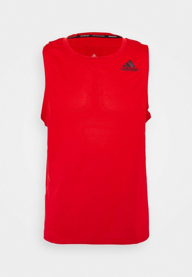 AERO TANK  - Sports shirt - vivid red