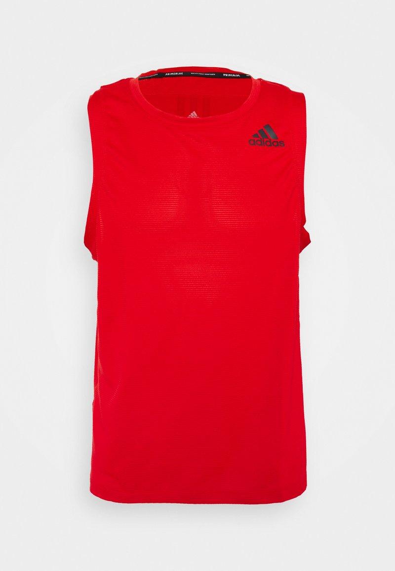 adidas Performance - AERO TANK  - Sports shirt - vivid red