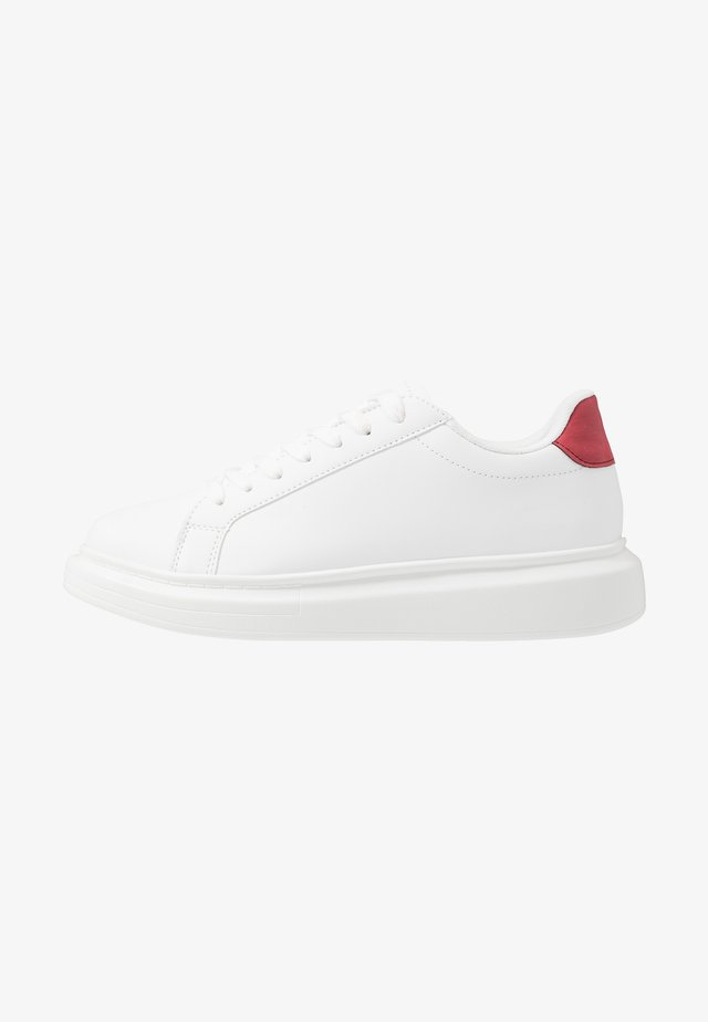 ROYAL - Sneakers laag - white/red