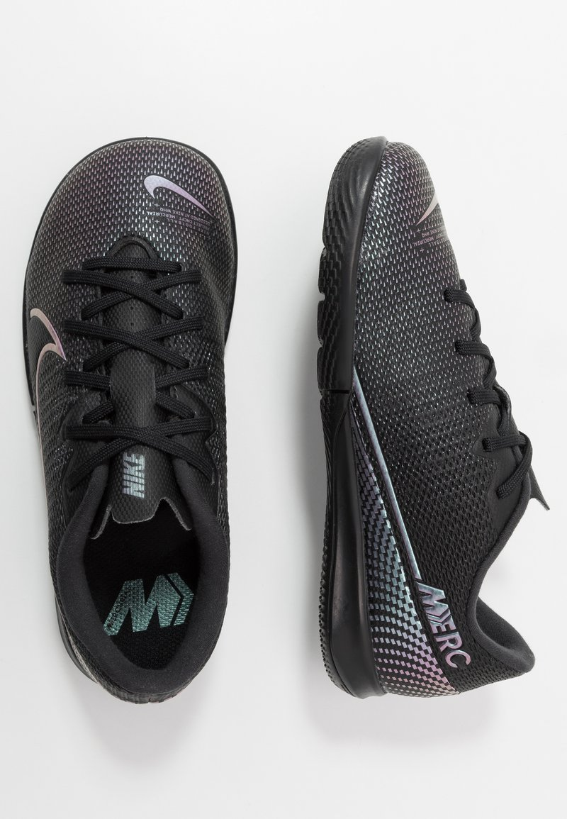Nike Performance - MERCURIAL JR VAPOR 13 ACADEMY IC UNISEX - Halové fotbalové kopačky - black