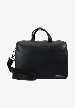 SLIVERED LAPTOP BAG - Laptoptas - black