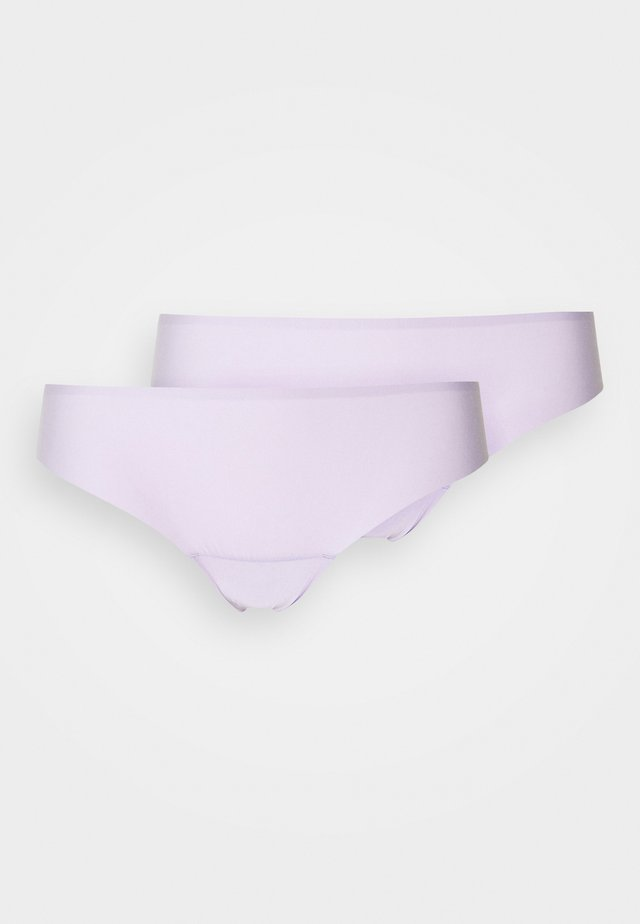 DREAM INVISIBLES THONG 2 PACK - Stringit - lavender