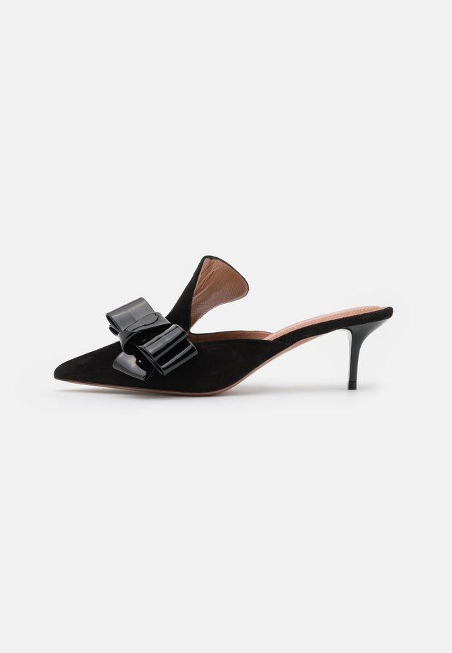 ALBERTA  - Pantofle na podpatku - nero