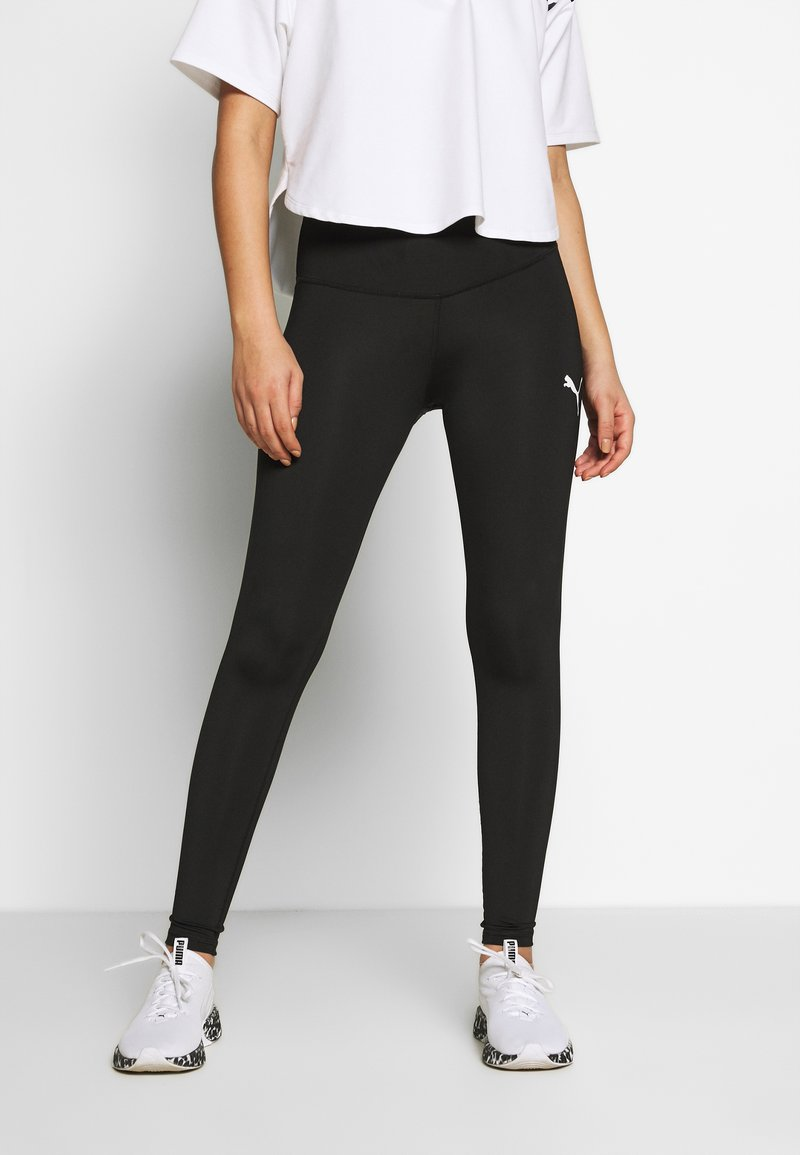 Puma - ACTIVE LEGGINGS - Medias - black