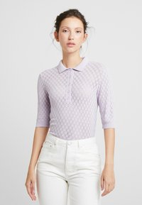 EDITED - KALEA - Print T-shirt - lilac - 0