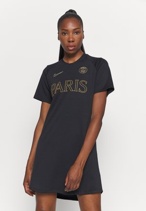 PARIS ST GERMAIN DRESS - Sports dress - black/truly gold