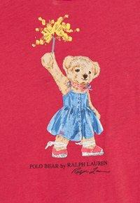 Polo Ralph Lauren - BEAR DRESS  - Robe en jersey - nantucket red - 3