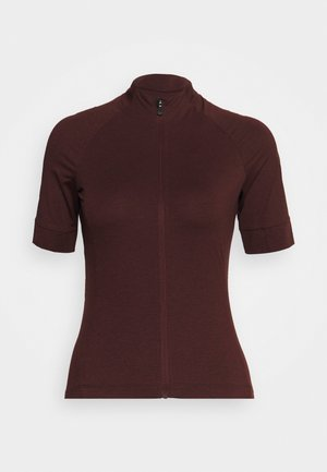 NEW ROAD - T-shirt con stampa - ox blood heather