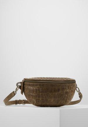 ALBELT - Bum bag - dark oliv green