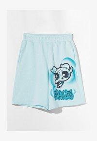 Bershka - POWERPUFF GIRLS - Shorts - light blue - 4