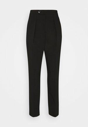 TAPERED PANT - Bukse - black