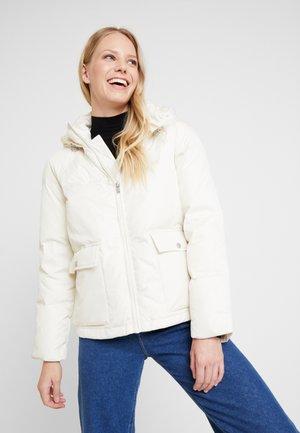 Down jacket - snow cap