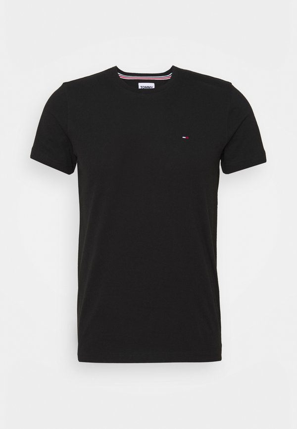 Tommy Jeans CNECK TEES 2 PACK - T-shirt basic - white / black/biały Odzież Męska MWNA