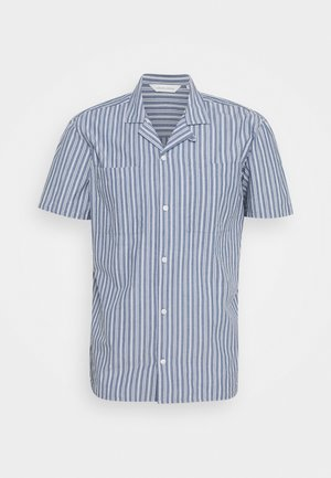 ALVIN STRIPED SHIRT - Camisa - true navy