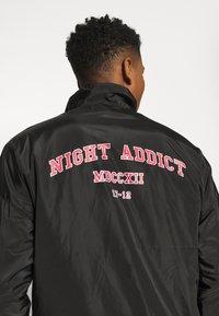 Night Addict - ADDICT - Giacca leggera - black - 5