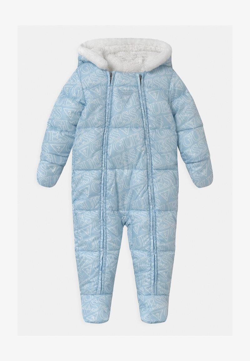 Guess - PADDED BABY UNISEX - Lyžařská kombinéza - light blue