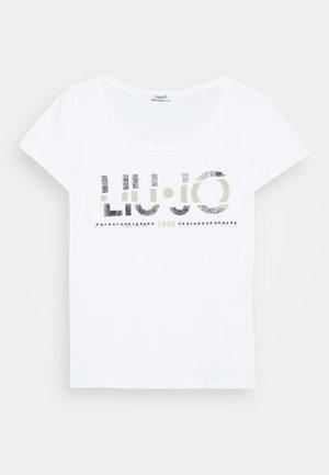 MODA - T-shirt z nadrukiem - bianco ottico