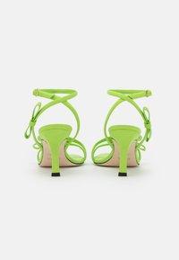 MSGM - HEEL - Sandales - green - 3