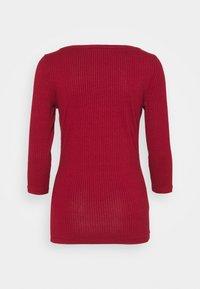 HUGO - DICARE - Long sleeved top - bordeaux - 1