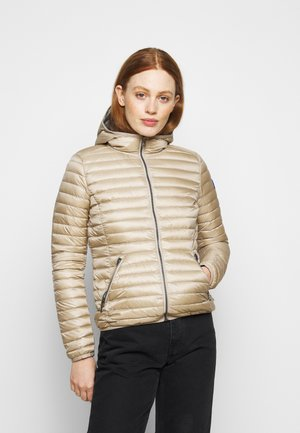 LADIES JACKET - Down jacket - toast/light steel