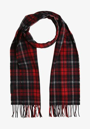 UPTOWN SCARF CHECK - Scarf - rot marine