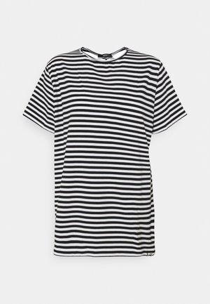 BRARIA - T-shirt con stampa - black