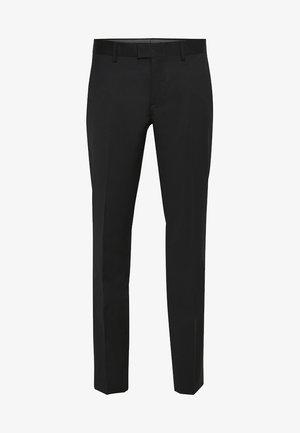 LAS - Spodnie garniturowe - black