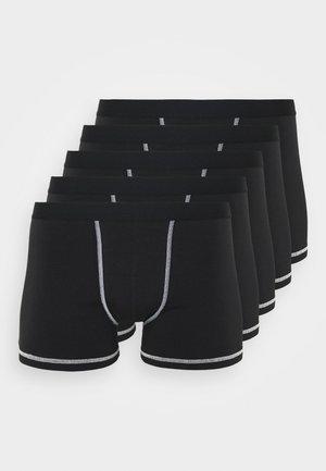 5 Pack - Onderbroeken - black