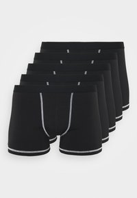 Pier One - 5 Pack - Panties - black - 0